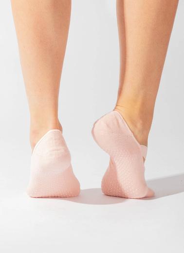 Katia & Bony Asta Yoga Basic Görünmez Çorap  Pembe